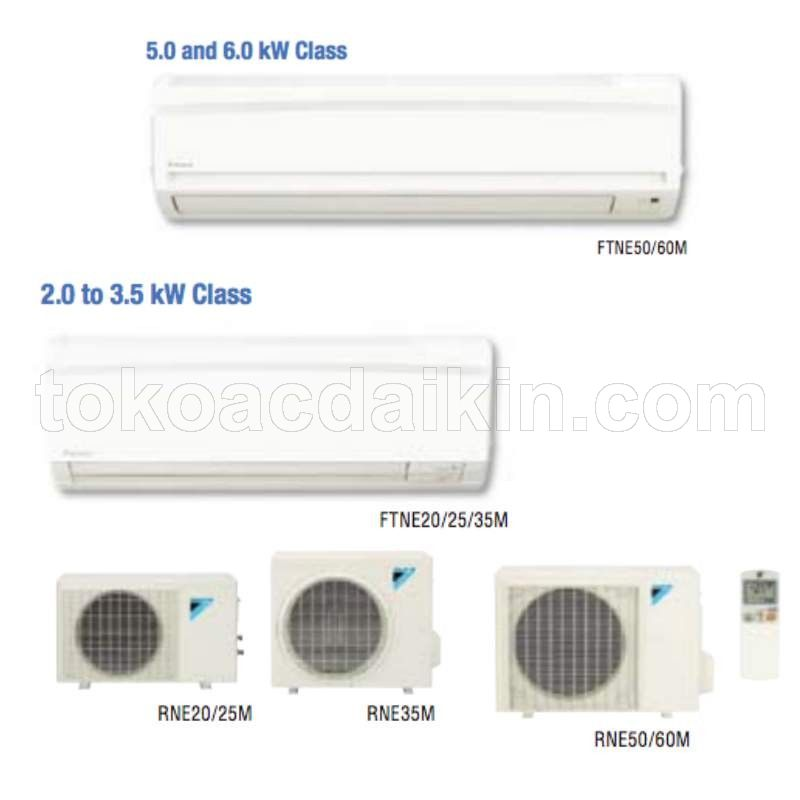 Harga AC Split Standard SMS Series R410A (Made in Thailand)